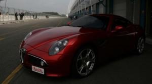 Тюнингованная Alfa Romeos 8C Competizione1