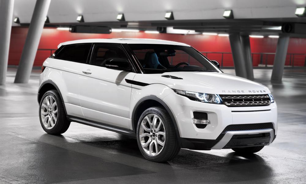 Продажи Range Rover Evoque в России уже стартовали