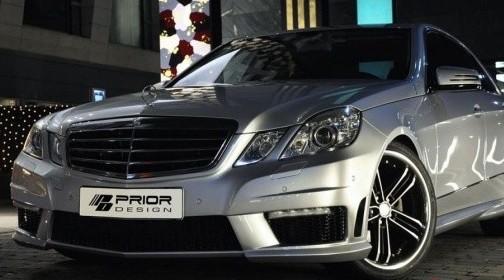 Бюро Prior Design придало Mercedes-Benz E-klasse черты мощнейшей версии E 63 AMG.