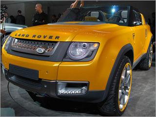 Франкфурт-2011: будущий Land Rover Defender