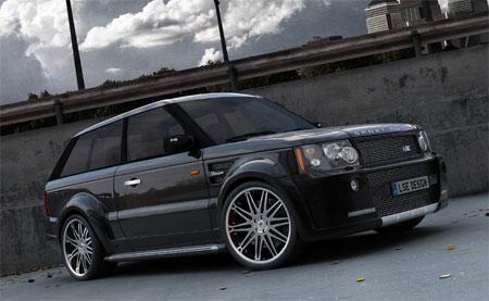 Купе Range Rover разлетится тиражом в 100 экземпляров