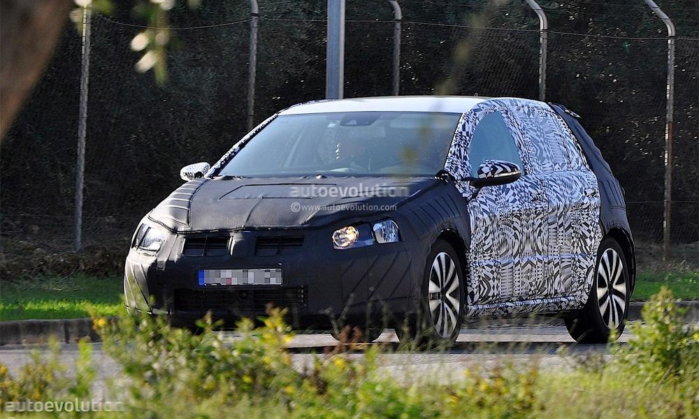 VW Golf седьмого поколения (шпионские фото)