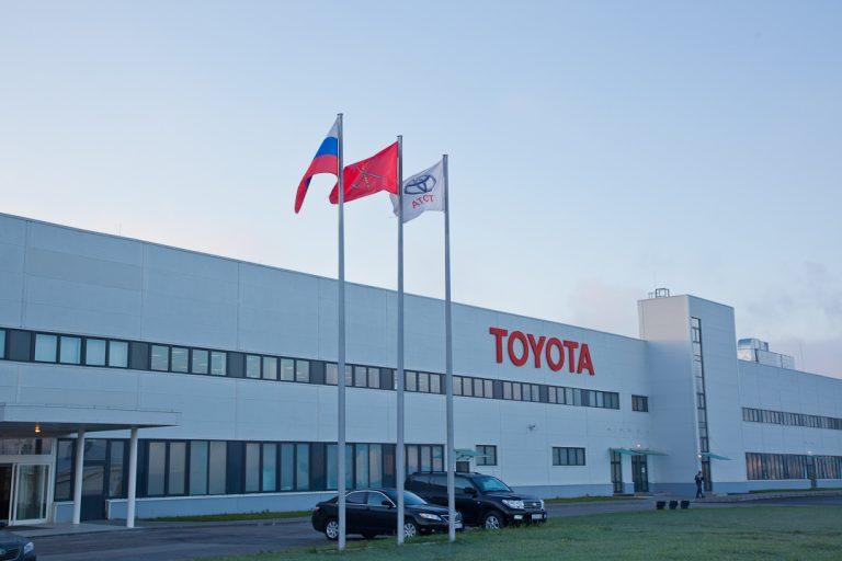 Toyota продолжает завоевывать российский рынок