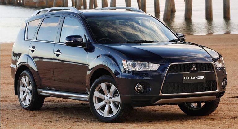 Продажи Mitsubishi в России