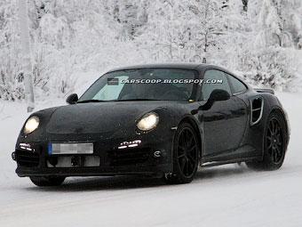 Тритурбинный  Porsche 911 Turbo