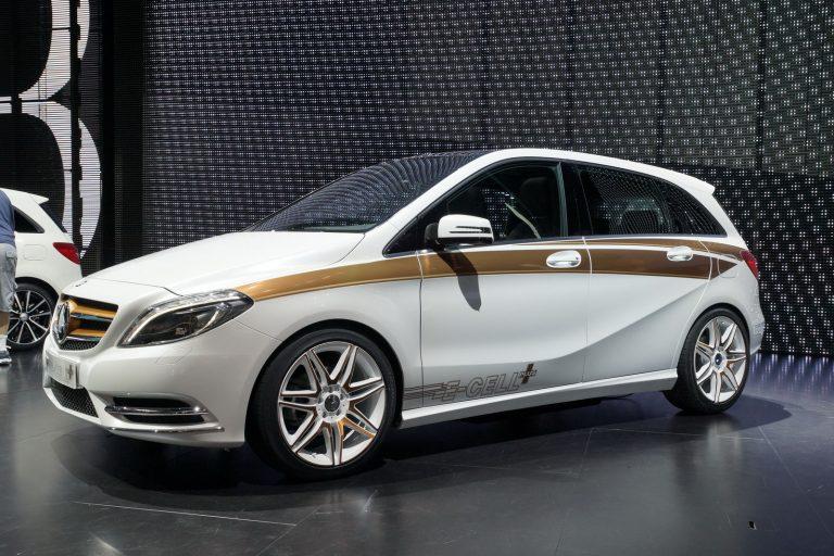 Mercedes-Benz В-класса выпустили в электрическом исполнении