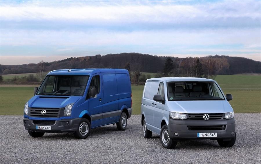 Volkswagen продемонстрировал новые версии Transporter и Crafter