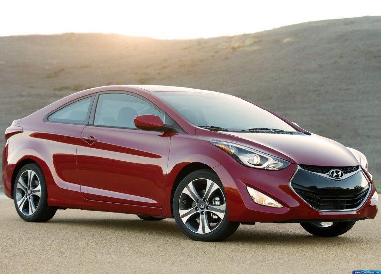 Новая Hyundai Elantra Coupe