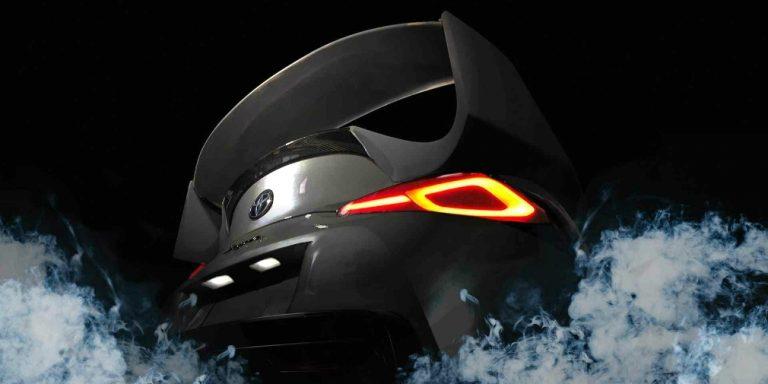 Toyota выпустит «Супру» с большим антикрылом и вентилируемым капотом